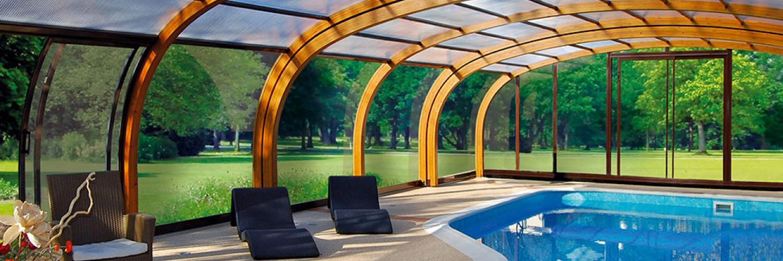 Cubiertas de piscinas abrisud piscinas ferromar for Piscinas ferromar