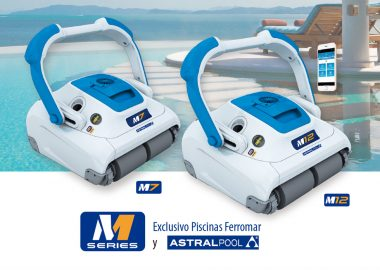 b9937a3c Limpiafondos M7 y M12 de Astralpool, la nueva gama M series de robots para  piscinas