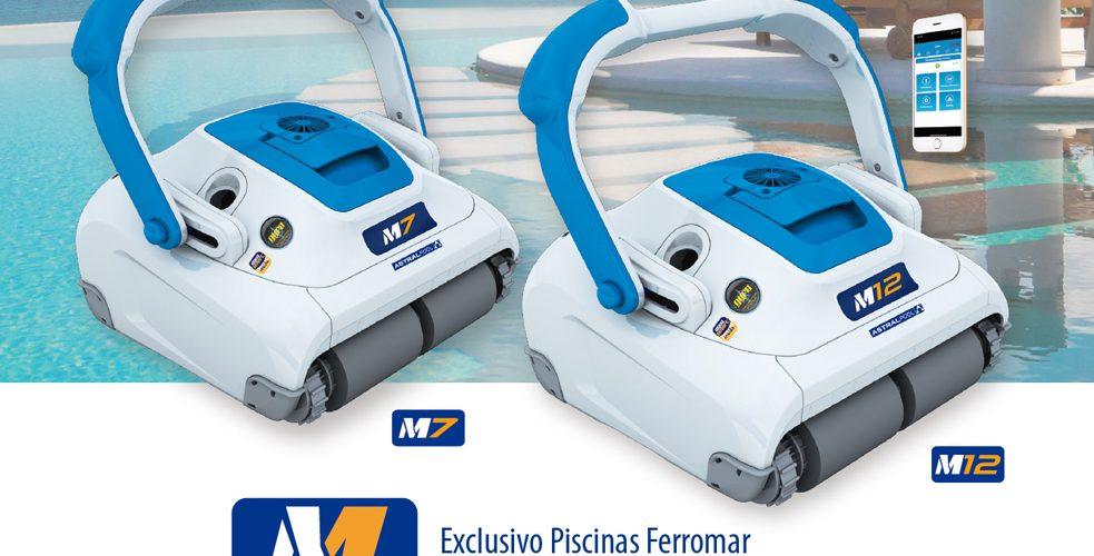Limpiafondos M7 y M12 de Astralpool