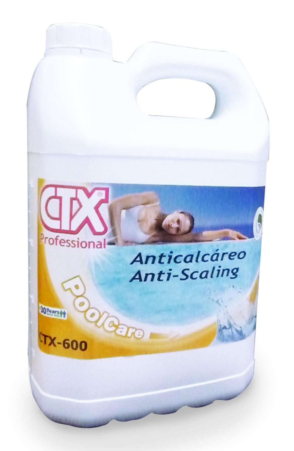 Anticalc reo liquido ctx 600 piscinas ferromar for Liquido sellador para piscinas