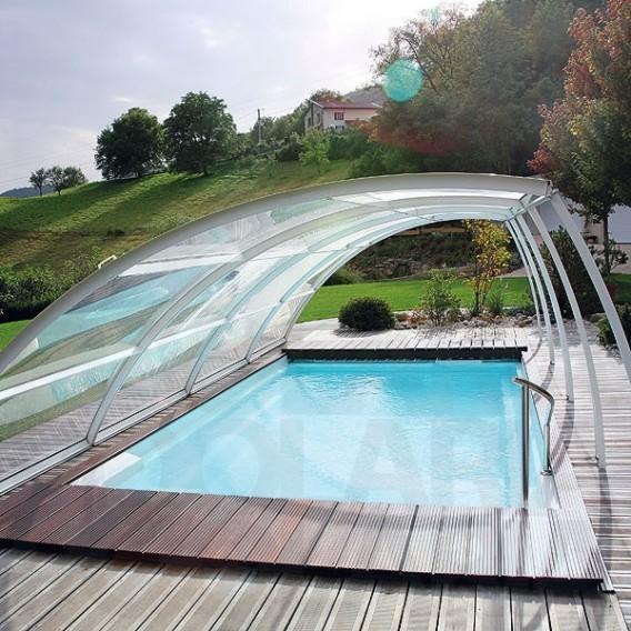 Cubierta baja amovible abrisud piscinas ferromar for Piscinas ferromar