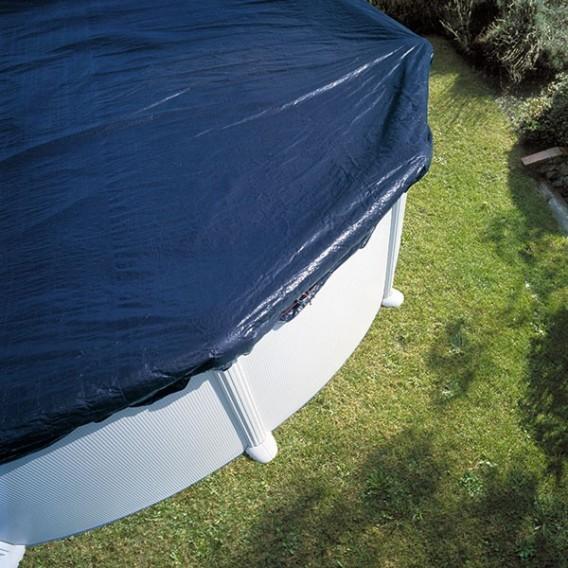 Cubierta invierno para piscina redonda gre piscinas ferromar for Cubierta de piscinas precios