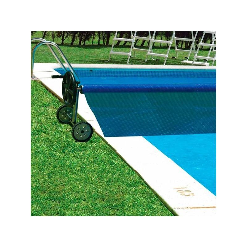 Enrollador de cubiertas para piscinas enterradas gre 90171 for Piscinas ferromar