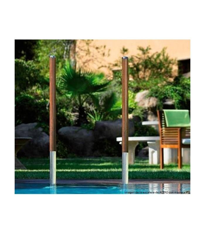 Escalera piscina acero inox elegance astralpool for Piscinas ferromar