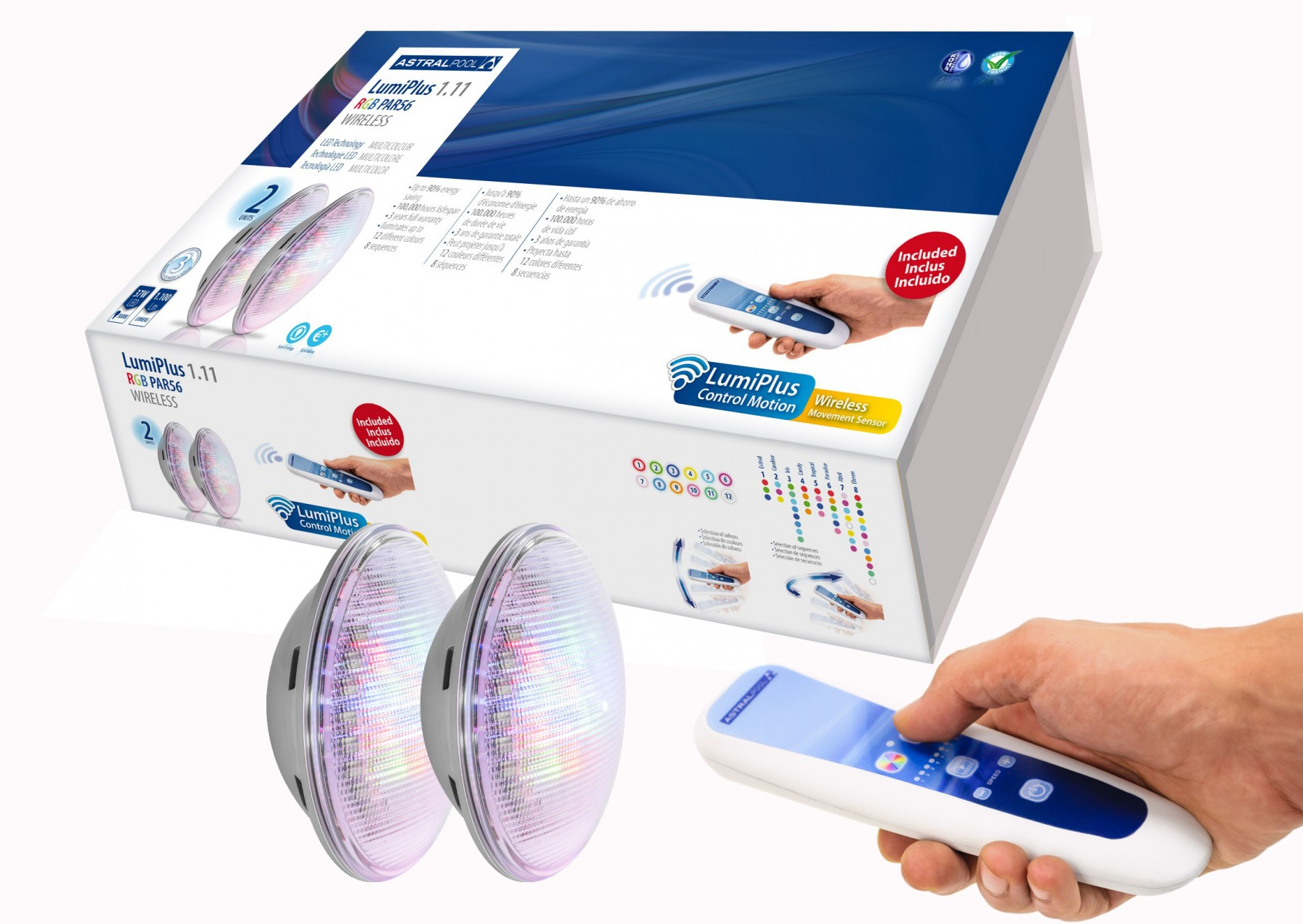 Kit lámpara LED LumiPlus PAR56 V1 Wireless AstralPool