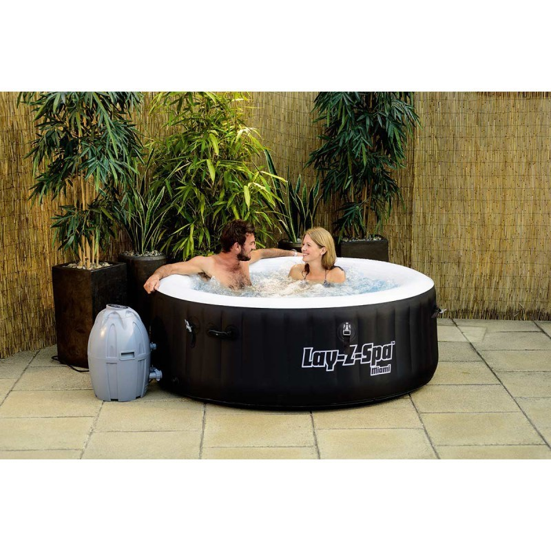 Spa Hinchable Lay- Z-Spa Miami Airjet Bestway