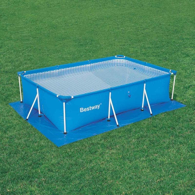 Tapiz de suelo para piscinas rectangulares bestway for Piscinas de plastico rectangulares