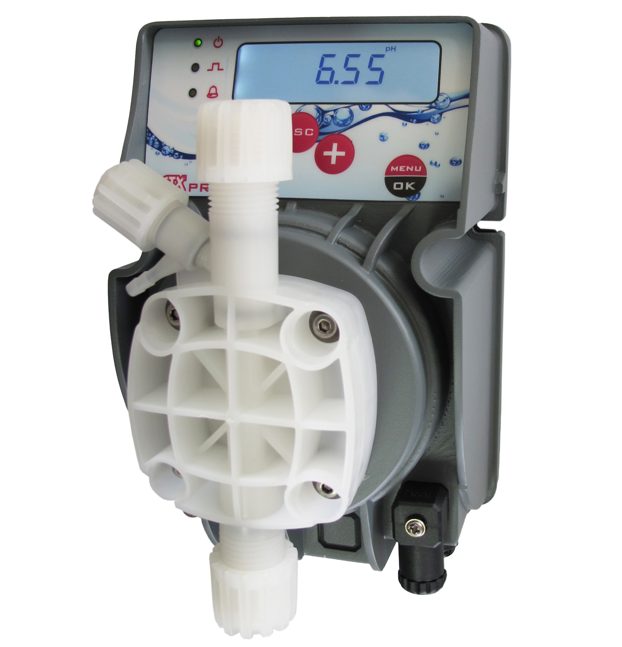 Ctx bomba dosificadora pro ph rx de membrana piscinas for Bomba dosificadora de ph para piscinas
