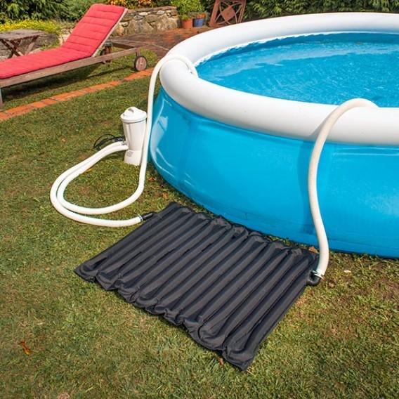 Calentador solar gre de agua para piscinas autoportantes for Calentador piscina solar