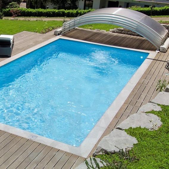 Cubierta de piscina motorizada abrisud piscinas ferromar - Cubierta de piscina ...