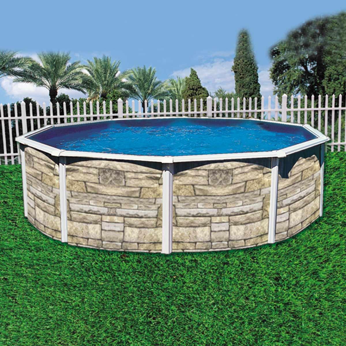 Piscina desmontable rocca k2o de acero piscinas ferromar - Piscina desmontable acero ...