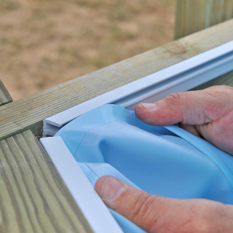 Liner gre para piscinas de madera sunbay piscinas ferromar for Liner para piscinas gre