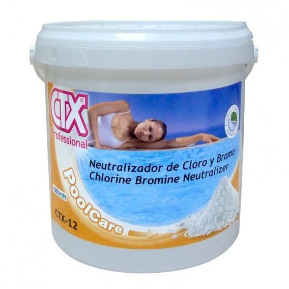 Neutralizador de cloro y bromo ctx 12 piscinas ferromar for Bromo para piscinas