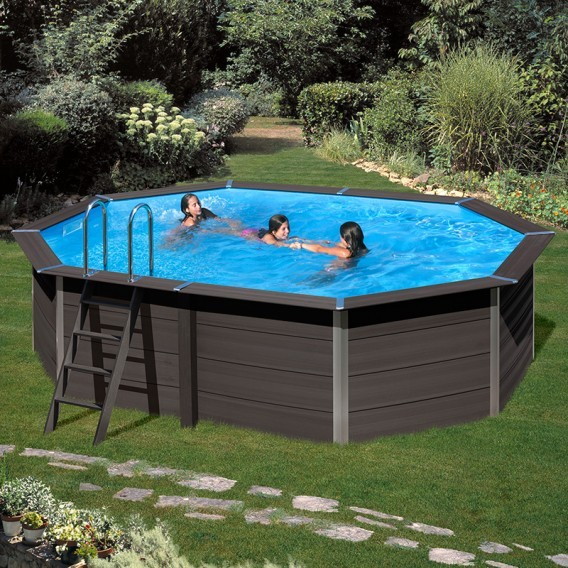 Piscina composite gre avantgarde ovalada piscinas ferromar for Piscinas desmontables gre