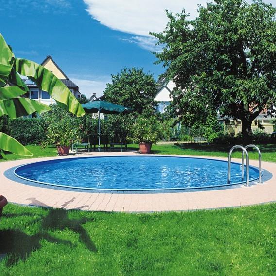 Piscina enterrada gre redonda sumatra piscinas ferromar for Piscinas ferromar