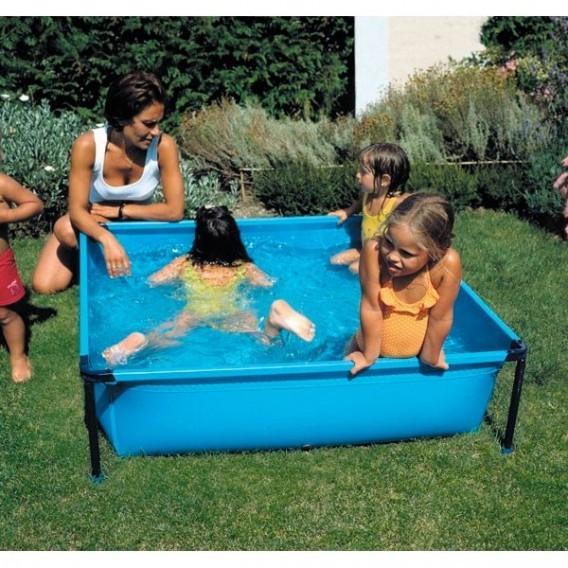Piscina desmontable infantil cuadrada gre y25 piscinas for Piscina infantil