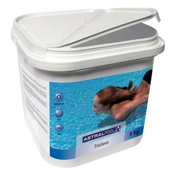 Astralpool tricloro en polvo piscinas ferromar for Polvo en la piscina