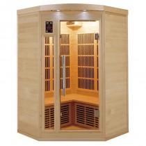 Sauna infrarrojos Rinconera Apollon 2-3 personas France Sauna