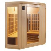 Sauna infrarrojos Rinconera Apollon 3-4 personas France Sauna