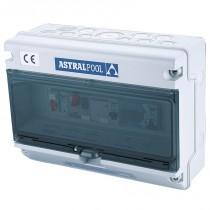 Armario maniobra Astralpool protección de bomba y control de luz subacuática