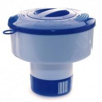 Dosificador de cloro flotante oval Basic