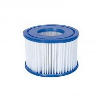 Set 2 Filtros Depuradora de Cartucho Antibacterias Tipo VI Bestway Lay-Z-Spa