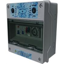Hydra Cuadro Eléctrico para Bomba y Focos led Transformador 100w