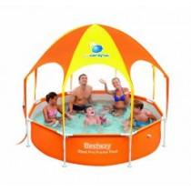 Piscina Infantil Desmontable Tubular con Parasol Bestway Splash-In-Shade