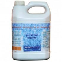 AstralPool pH Minor Líquido para Electrólisis de Sal