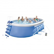 Piscina Ovalada Desmontable Autoportante Bestway Fast Set