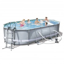 Piscina Tubular Ovalada Power Steel Bestway