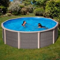 Piscina Desmontable Circular Gre Fusion Pool