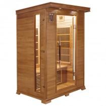 Sauna infrarrojos Luxe 2 personas France Sauna