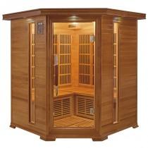 Sauna infrarrojos Luxe Rinconera 3-4 personas France Sauna