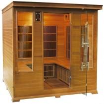 Sauna infrarrojos Luxe Club 4-5 personas France Sauna