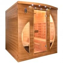 Sauna infrarrojos Spectra 4 personas France Sauna