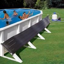 Sistema calefacción solar para piscinas