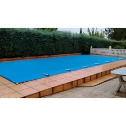 Cobertor de Protección PVC con Barras Ancho 4.50 m