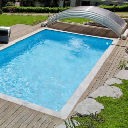 Cubierta de piscina motorizada Abrisud