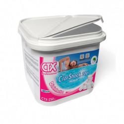 Dicloro en tabletas ClorShock Premium 20g CTX-250