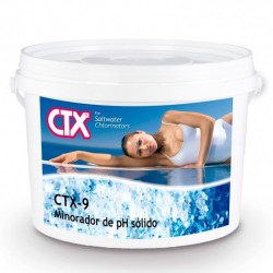 Minorador pH Sólido Cloración Salina CTX-9