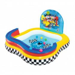 Piscina Hinchable Infantil de Juegos Bestway La Casa de Mickey Mouse