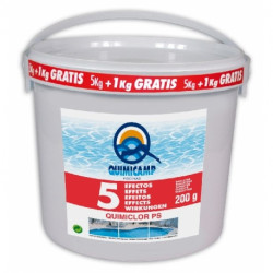 Quimiclor 5 efectos Tabletas 200 Gr