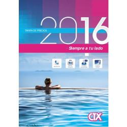 Catálogo/Tarifa Certikin CTX 2016