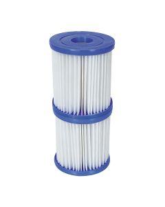 Filtro de Agua Tipo I para Depuradora de Cartucho Bestway