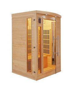 Sauna infrarrojos Apollon 2 personas France Sauna