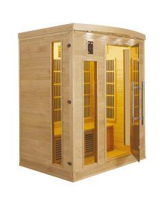 Sauna infrarrojos Apollon 3 personas France Sauna