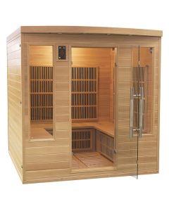 Sauna infrarrojos Apollon 4-5 personas France Sauna
