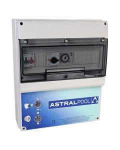 Armario maniobra 1 bomba y control iluminación transformador 300W+600W AstralPool