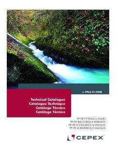 Catálogo Tecnico Accesorios PP Cepex 2015